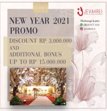 New Year Promo by Jevahrei (Menara BTN, Graha Mandiri, UNTAR)