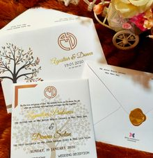 Agustiar & Donna invititation by xime wedding card