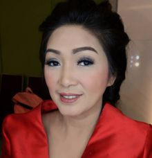 Party Make Up & Hair Do by MarisaFe Bridal