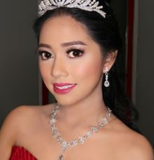 Sweet 17th Make up & Hair do by MarisaFe Bridal