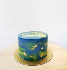 Watercolor Cake by LÉLE Bakery