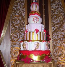 Thematic Wedding Cake by Liebelux Cake