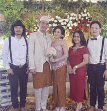 Chika & Najmul Wedding At Dago Pakar by Josh & Friends Entertainment