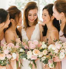 Bride & Bridesmaids by Makeup Entourage by MAKEUP ENTOURAGE