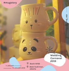 Mug gentong by Mug-App Wedding Souvenir