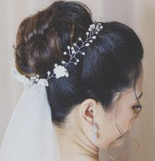 Bridal Makeup And Hairstyle by Aoi's Makeup Artistry