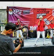 Konser Musik Bersama KPU Jakarta Utara by MOZZA AND MIRACLE ENTERTAINMENT