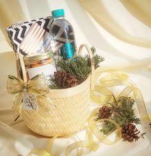 Love Bamboo Basket 2 by Love Lulu Box