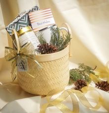 Love Bamboo Basket by Love Lulu Box