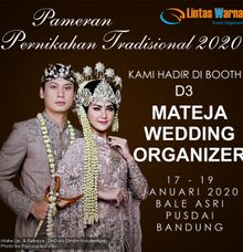 Pameran Pernikahan Tradisional 2020 by Mateja Wedding Organizer