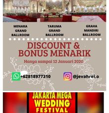 Wedding Exhibition by Jevahrei (Menara BTN, Graha Mandiri, UNTAR)