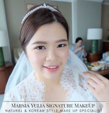 Mrs.S Wedding by Marsia Yulia Signature. Natural and Korean Make Up Specialist.