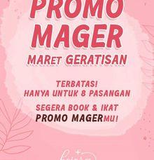 Promo MAGER MAret GERatisan by Kejora Gift & Souvenir