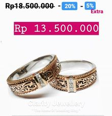 Wedding Ring Batik PROMO IDR 13.500.000 by Clarity Jewellery