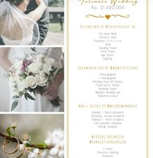 New Normal Wedding by Concetta Wedding Organizer