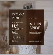 PROMO  PACKAGE by L E U R A Bride