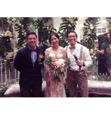 Reza & Angie Wedding Day by Vedie Budiman
