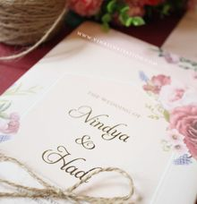 Nindya & Hadi by Vinas Invitation