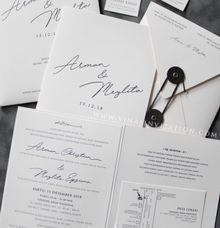 Arman & Meilita by Vinas Invitation