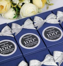 Favor Labels for the Bridgestone Group Singapore by Gift Elements