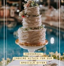 Ocean front wedding by sugarbox patisserie