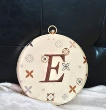 Custom Clutch  Ms E by The Curvakum Label