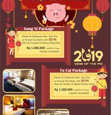 Imlek & Valentine Package 2019 by Hotel Sunlake