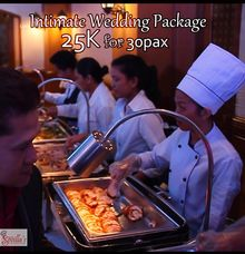 Intimate Wedding by Sevilla's Catering