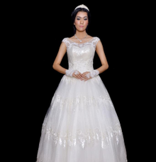 WEDDING GOWN XXXIV by JCL FOTO BRIDAL SALON