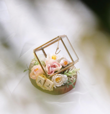 Petite Square Ring Bearer for Amy & Partner by Jeestudio Id