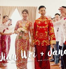 Jian Wei + Jane - Wedding Actual Day Cinematic by Aplind Yew Production - Wedding Cinematography & Photography