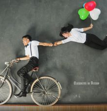 Prewed Deny & Eka by Clasikers in Design