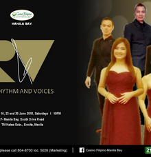 RHYTHM AND VOICES LIVE AT CASINO FILIPINO MANILA BAY by RHYTHM AND VOICES MUSIC