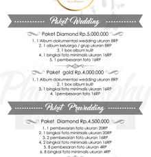 Pricelist by Angga Oktavian Photography
