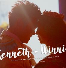 Kenneth & Winnie - Wedding Actual Day Cinematic Video by Aplind Yew Production - Wedding Cinematography & Photography