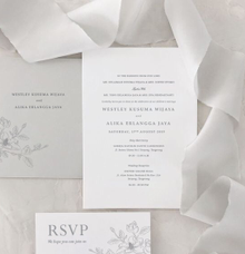 Westley & Alika by Kiaora Invitation