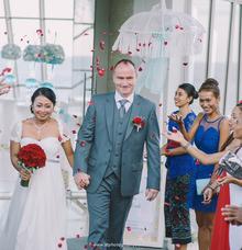 Wedding of Cedryk & Diah [ Custom Gown Bali ] by Kings Bridal & Tailor