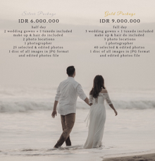 Prewedding package by Kings Bridal & Tailor