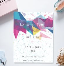 Modern & Chic by She.Fox Invitations