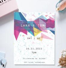 Modern & Chic by She.Fox Invitations
