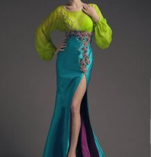 BEAUTIFUL TURQUOISE by Ann Teoh Couture
