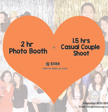 Photo booth + Casual Shoot by Little Snap Productions