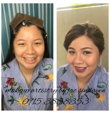 Shienelle's Prom Make up by Make Up Artistry by Jac Sindayen