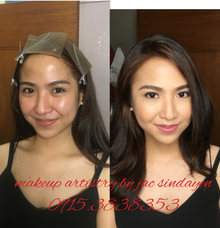 Akiko for her Graduation Makeup  by Make Up Artistry by Jac Sindayen