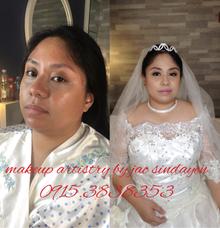 Ms Kristel's Wedding Day  by Make Up Artistry by Jac Sindayen