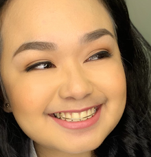 FEU student 1 grad makeup  by Make Up Artistry by Jac Sindayen