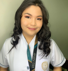 Michelle Galang for her Grad Pictorial  by Make Up Artistry by Jac Sindayen