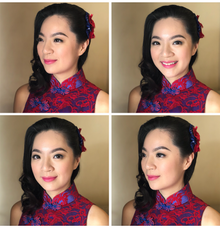 Hair and makeup by Dollei Seah  by MAKEUP ENTOURAGE