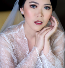 Wedding Makeup - Bride Irene - by makeupbyyobel