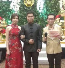 The Chinese Engagement of Ribka Sabela and Dimas Dian Andika by Samuel Tandio MC